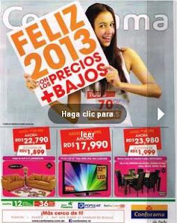 catalogo conforama feliz 2013