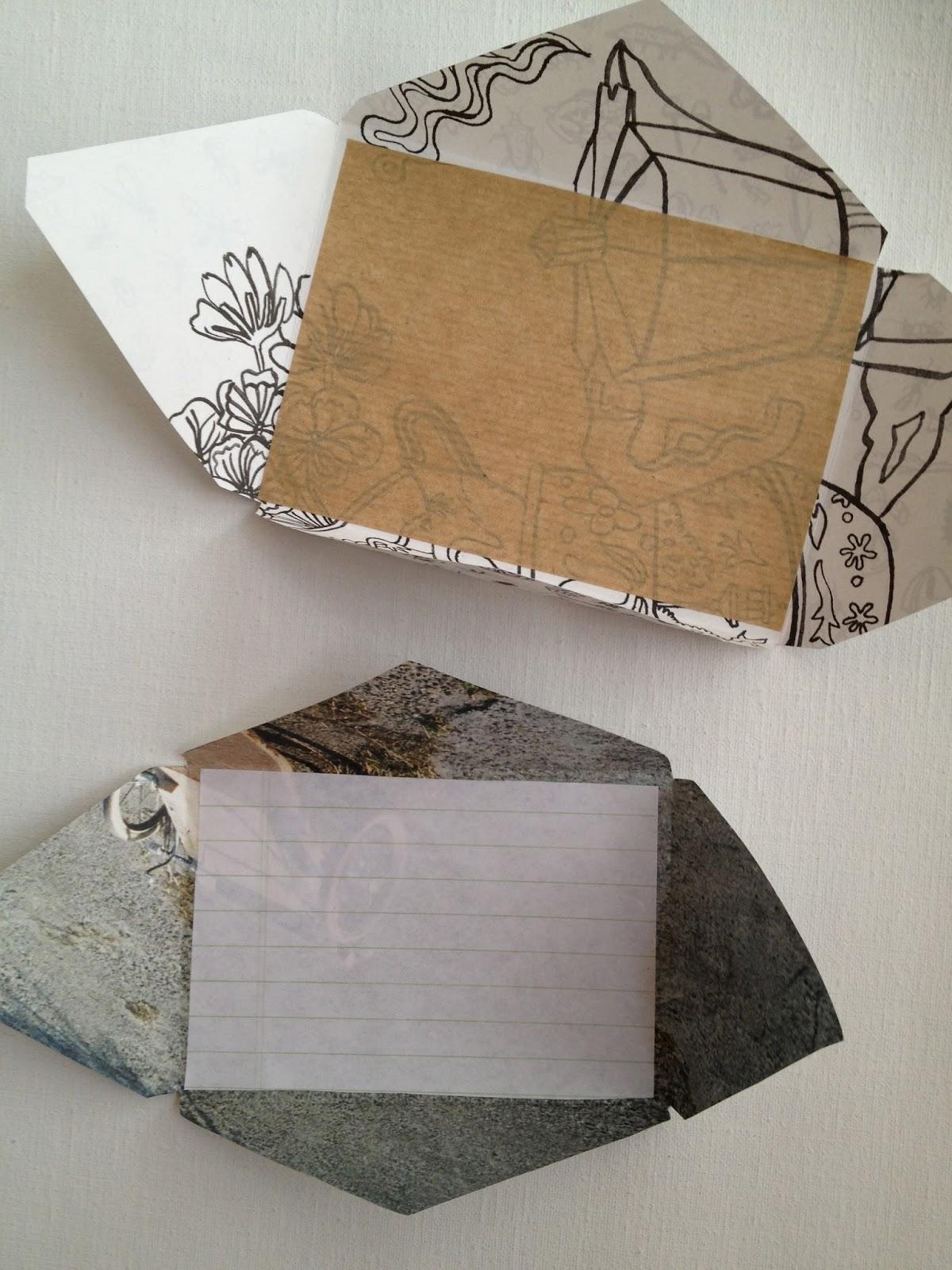 One Bunting Away Nesting Envelopes