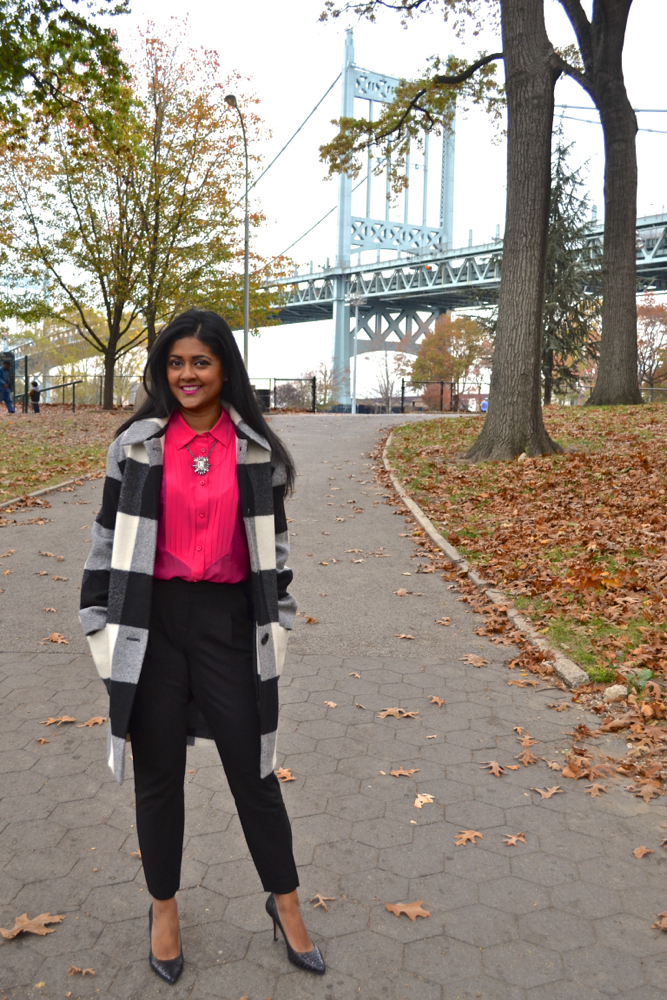 Fall coat trends in Astoria New York