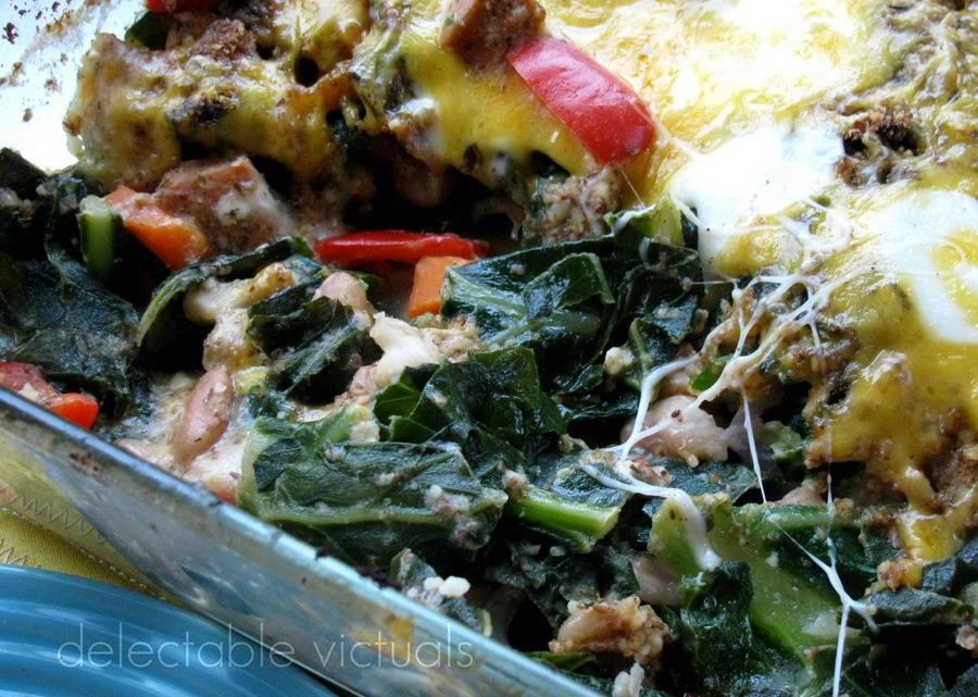 collard green casserole