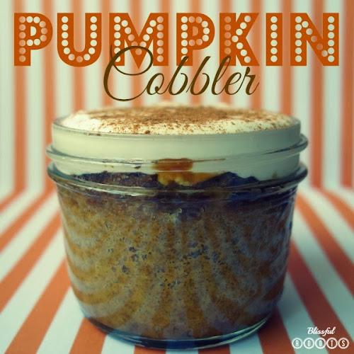 Pumpkin Cobbler from Blissful Roots