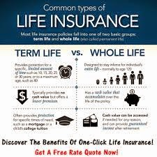 Insurance Life - Life Term Versus Whole Life