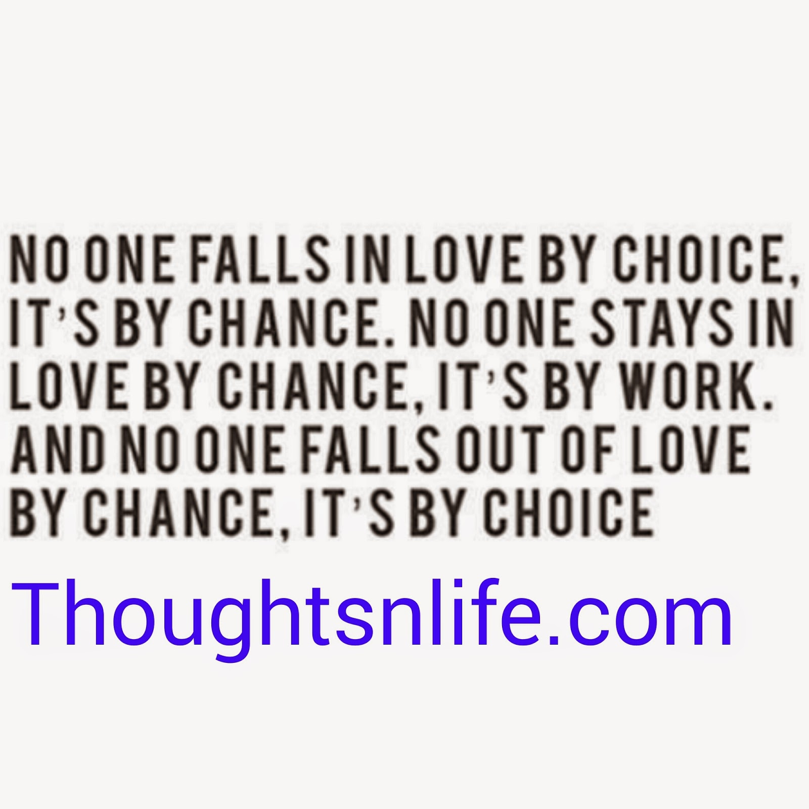 thoughtsnlife, love quotes,love by chance