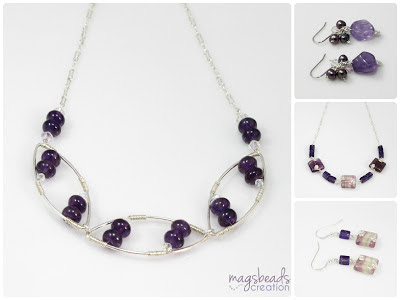 Lavender Love - Winter Collection 2012 by MagsBeadsCreation