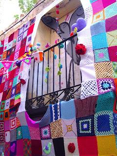 Ganchillo Urban Knitting Zaragoza Calle Libertad ganchillo moderno