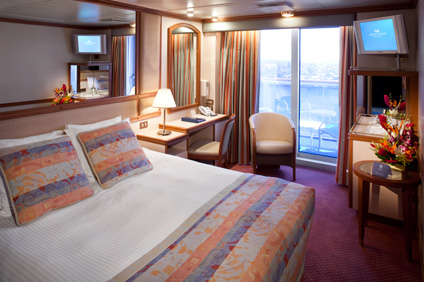 Day 1 diamond princess alaska cruise oceanview double for Alaska cruise balcony room