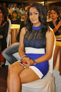 Actress Smitika Acharya  Pictures in Short Dress at Jabilli Kosam Akasamalle Audio Launch  0009