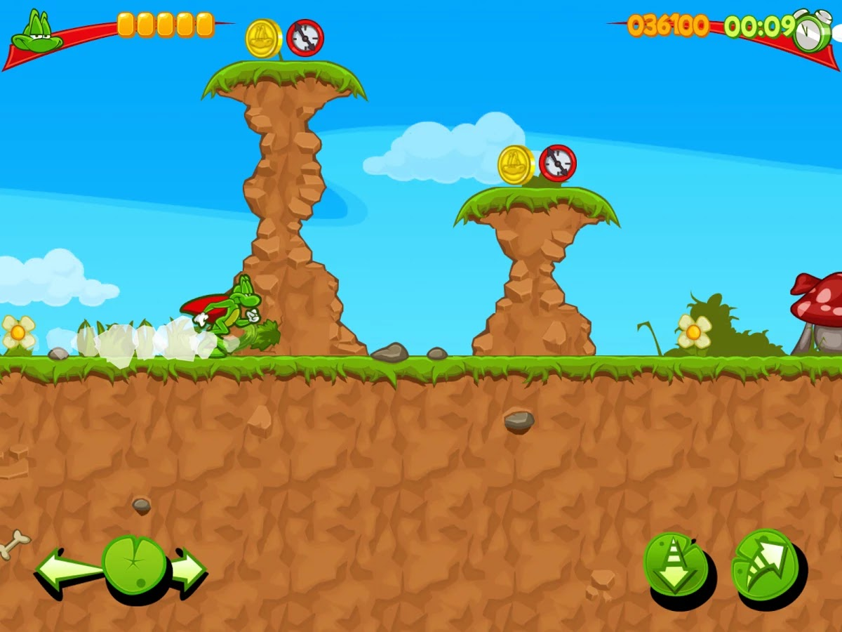 Superfrog Hd 1.0 Apk