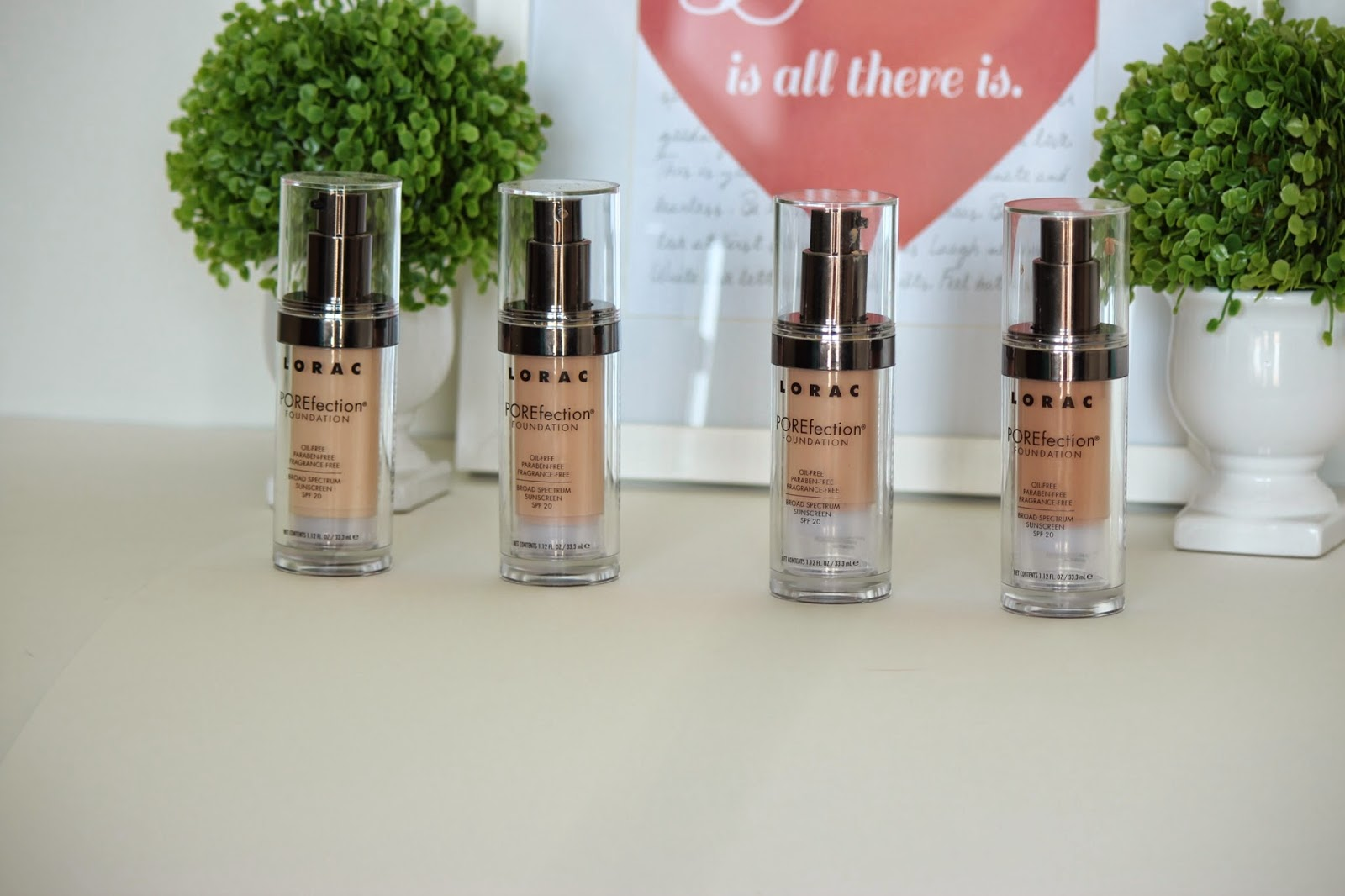 LORAC POREfection foundation, POREfection foundation review, lorac foundation review