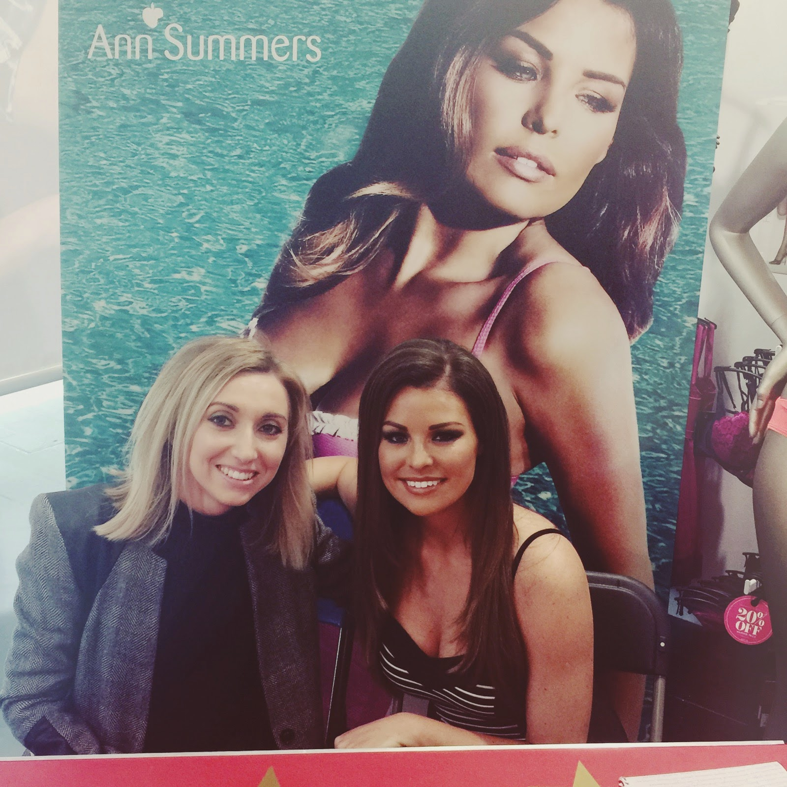 Jess Wright Ann Summers Swimwear