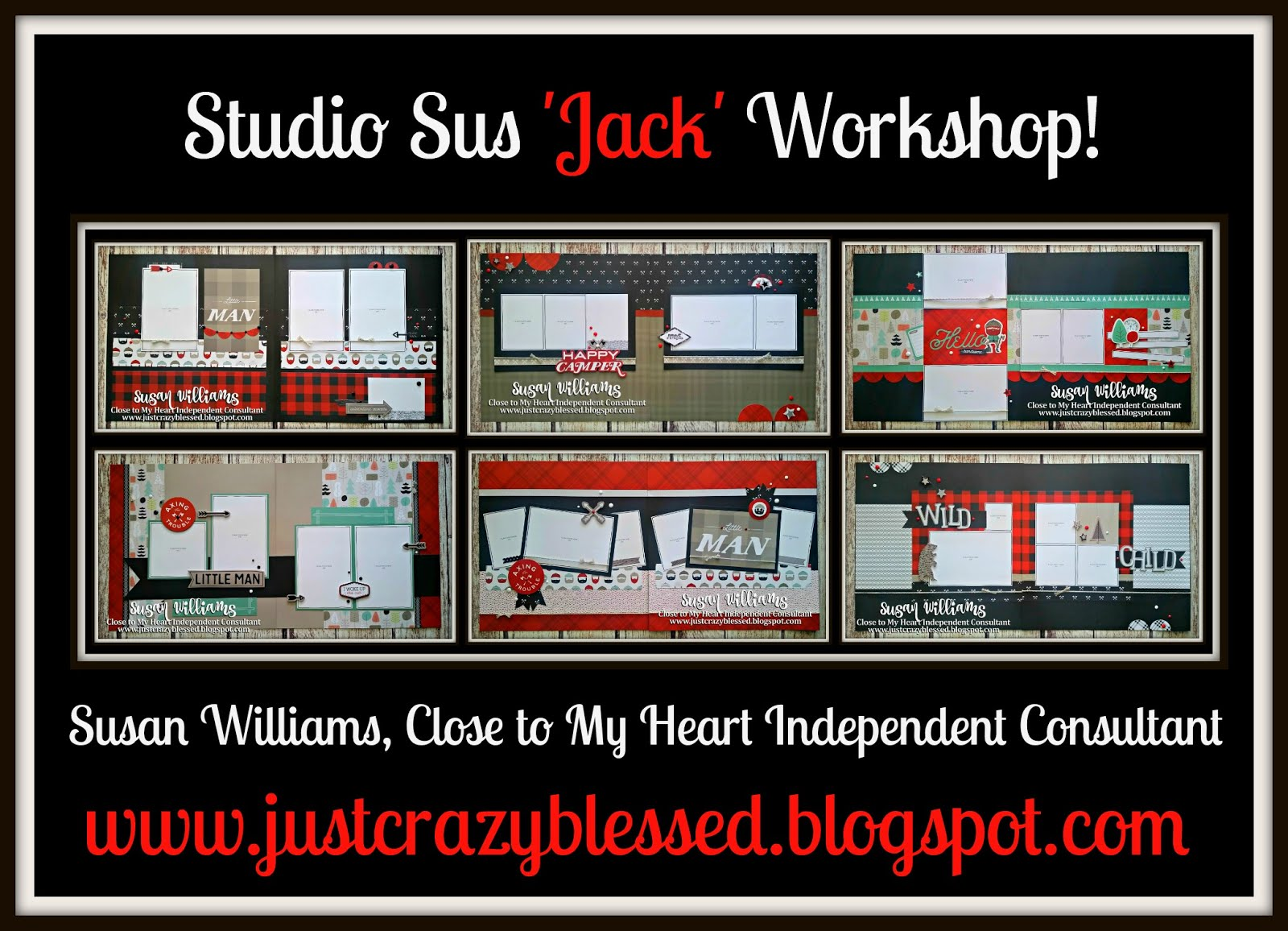 'Jack' Scrapbooking Workshop!