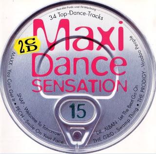 Maxi Dance Sensation vol. 15 (1994)