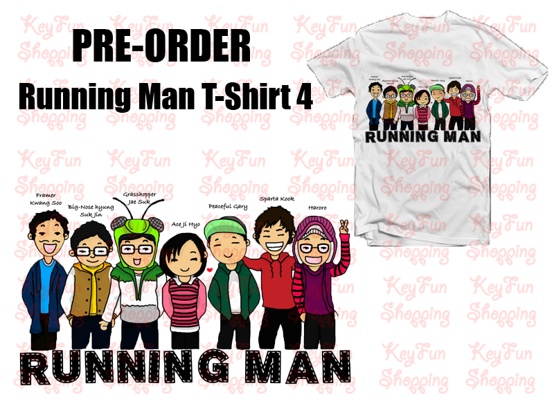 Running Man T-Shirt 4 Pre-Order