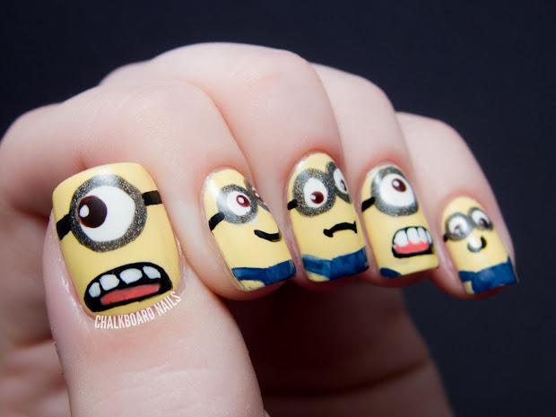 minions - despicable nail
