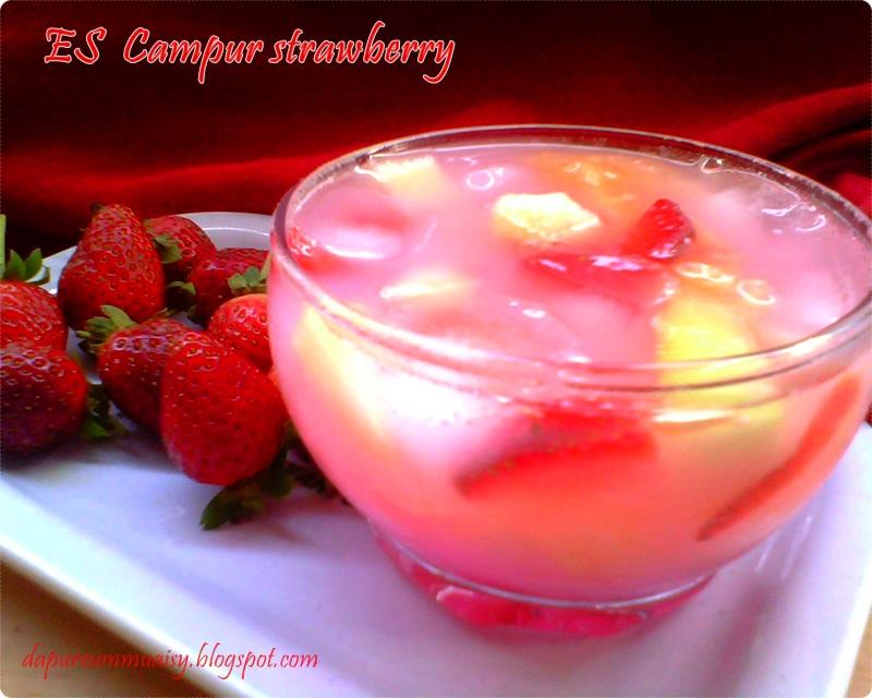 Es campur strawbery