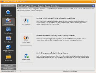 Registry Repair Wizard 2012 Full with Serial