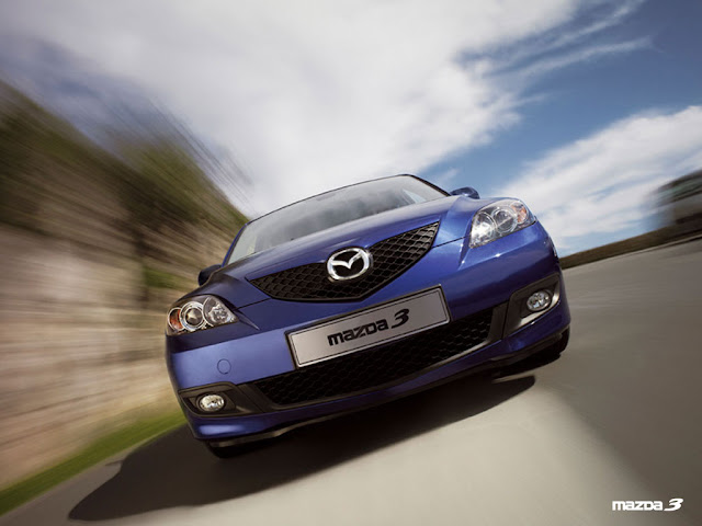 Front image of Mazda 3