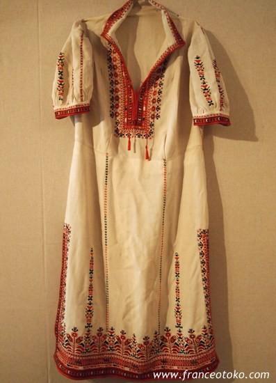 ブルガリア、刺繍の衣装