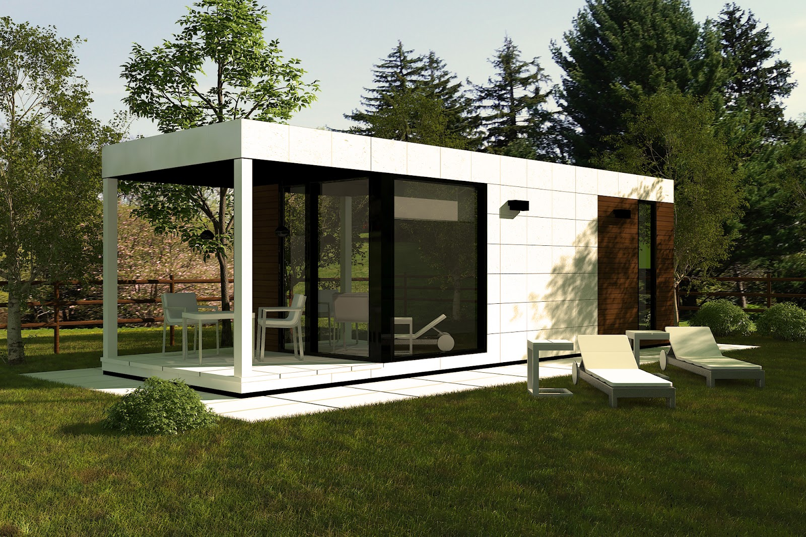 M dulos para jard n soluciones bien conocidas en otros - Modulos prefabricados para viviendas ...