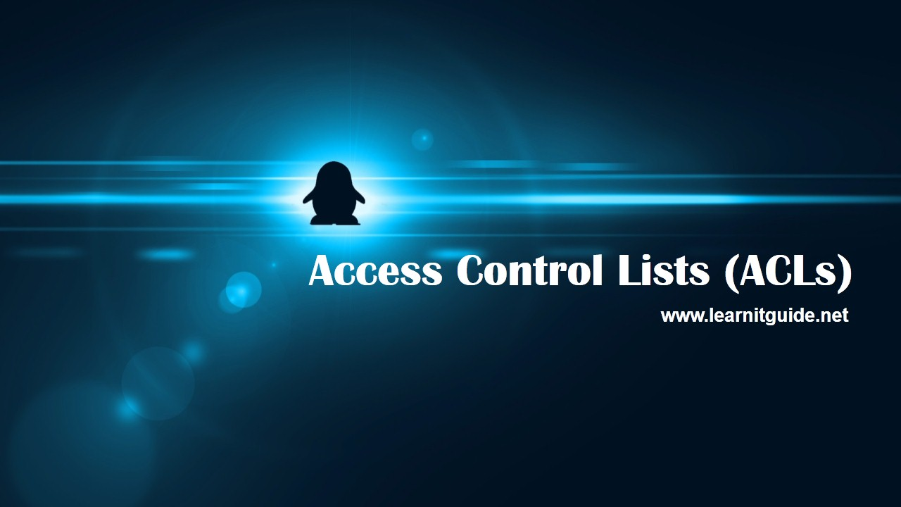 access control lists An access control list (acl) provides security for a private network by controlling  the flow of incoming and outgoing packets specifically, a network policy is.