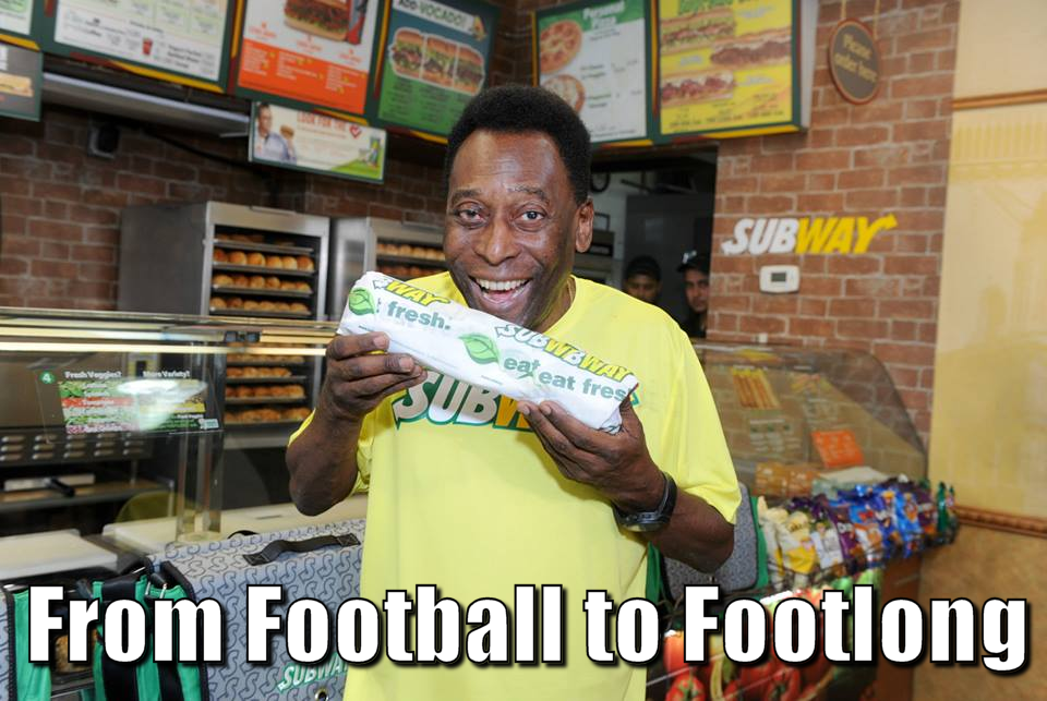 Pele and Subway