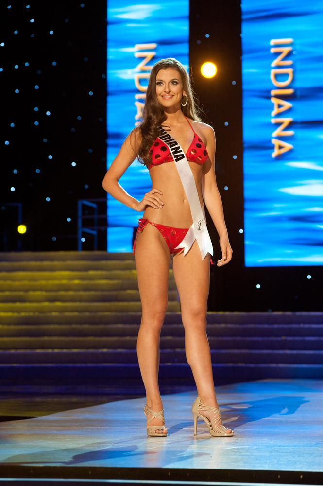 Eye For Beauty EYE FOR BEAUTY Top 15 In Miss USA 2011 Preliminary Swimsuit Competition