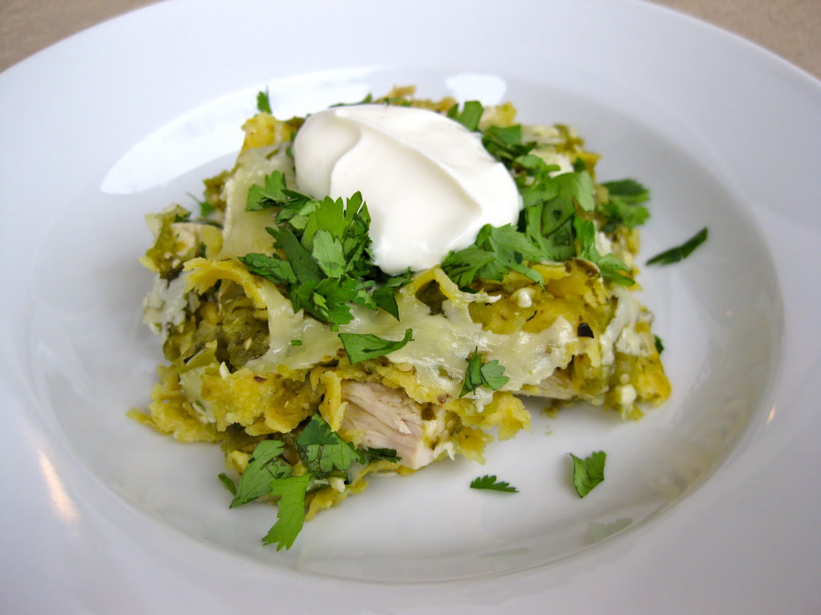Chilaquiles Verdes Recipe — Dishmaps