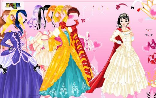 Disney Princess Wedding Day Dress Up Games : Dress up games fashion for faith in four colors