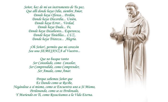 Oraciones y reflexiones de san francisco de asis pictures - images ...
