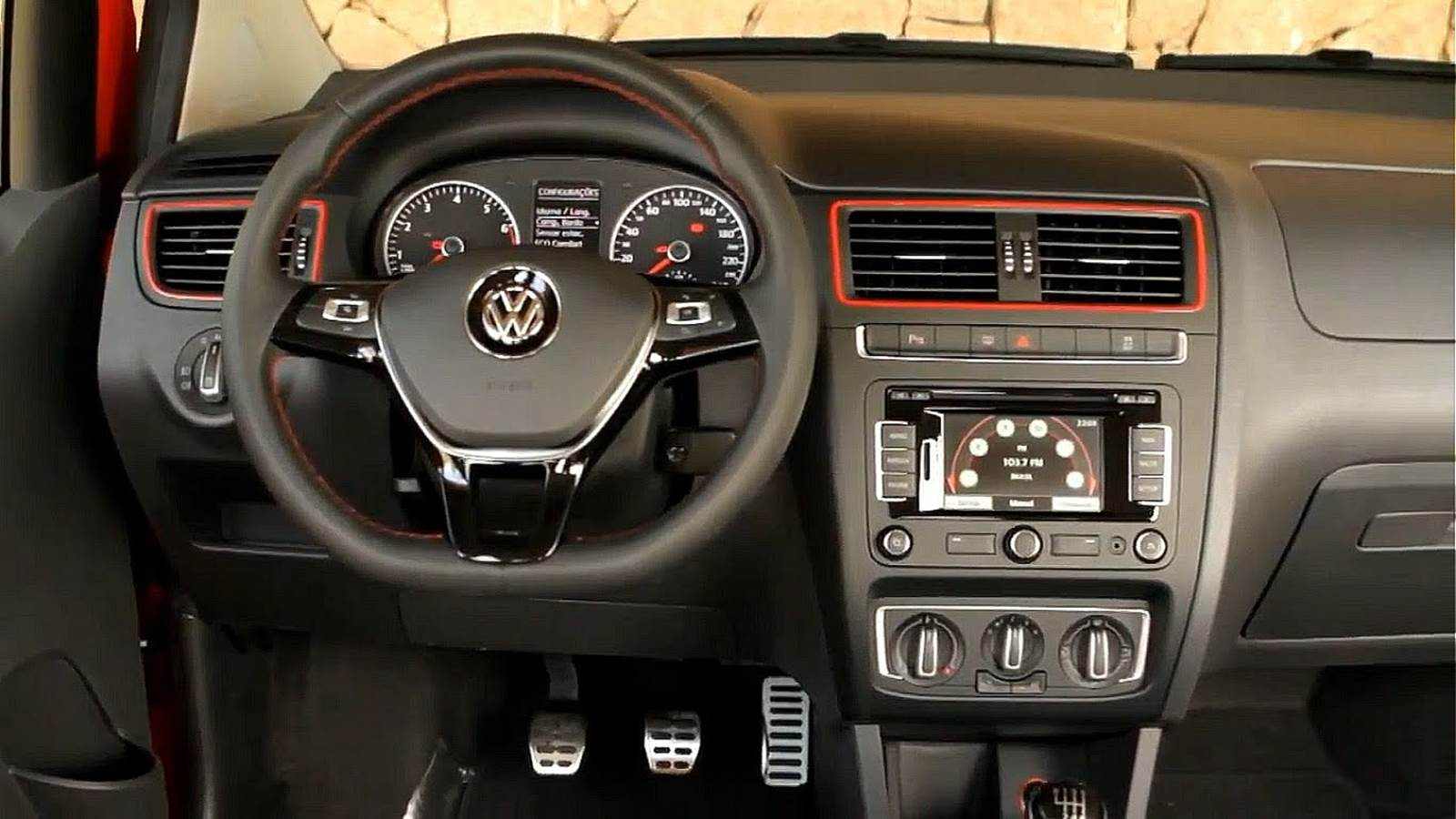 Novo VW Fox 2015 - Pepper