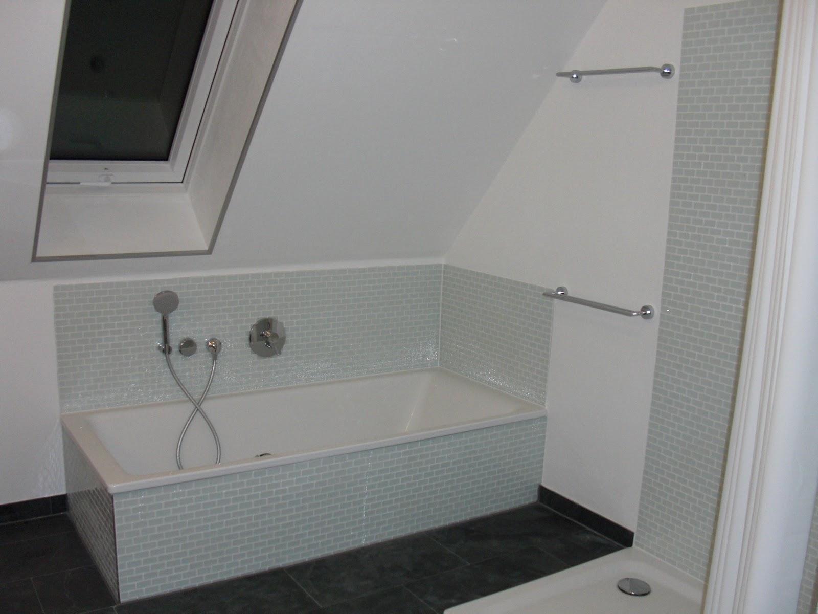 Tapete Dusche Versiegeln : heim-elich: Schönheitskorrekturen im Bad