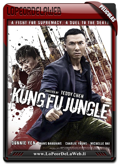 Kung Fu Jungle BRrip 720p Latino 2014