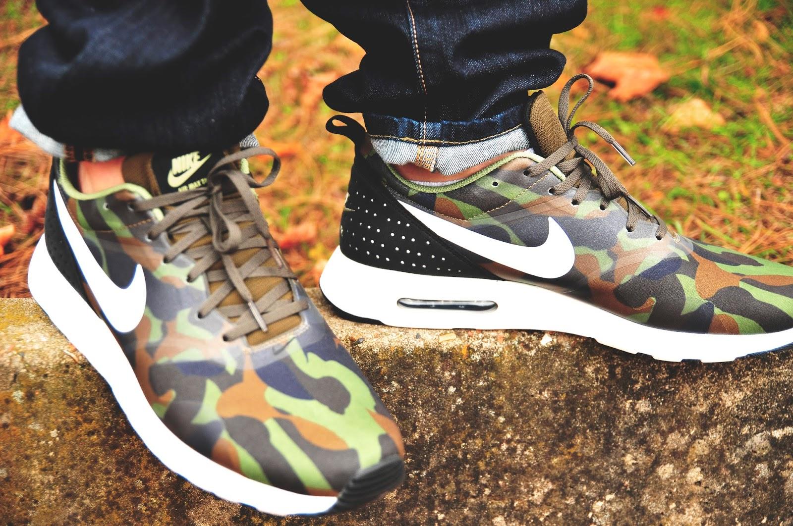 Nike Air Max Tavas Camouflage