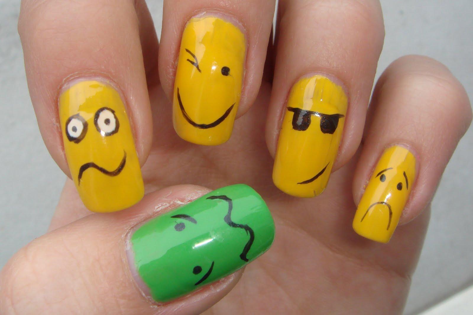 Как красиво несложные рисунки на ногтях фото