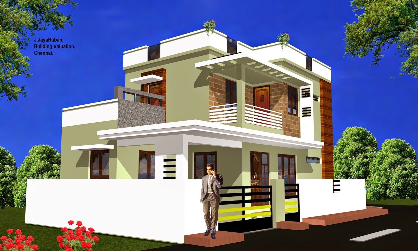 Building house in india Civil home design