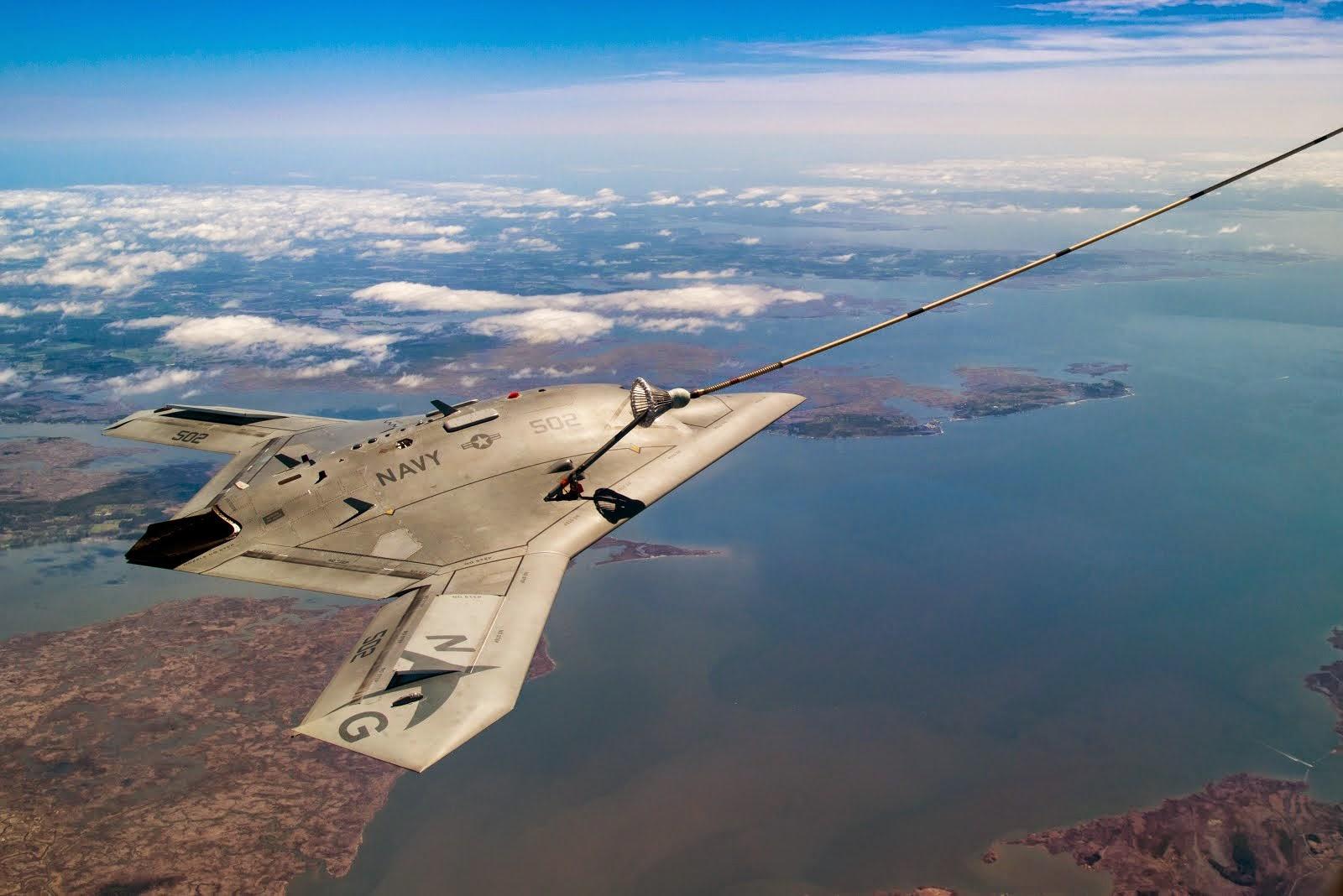 X-47B refueling