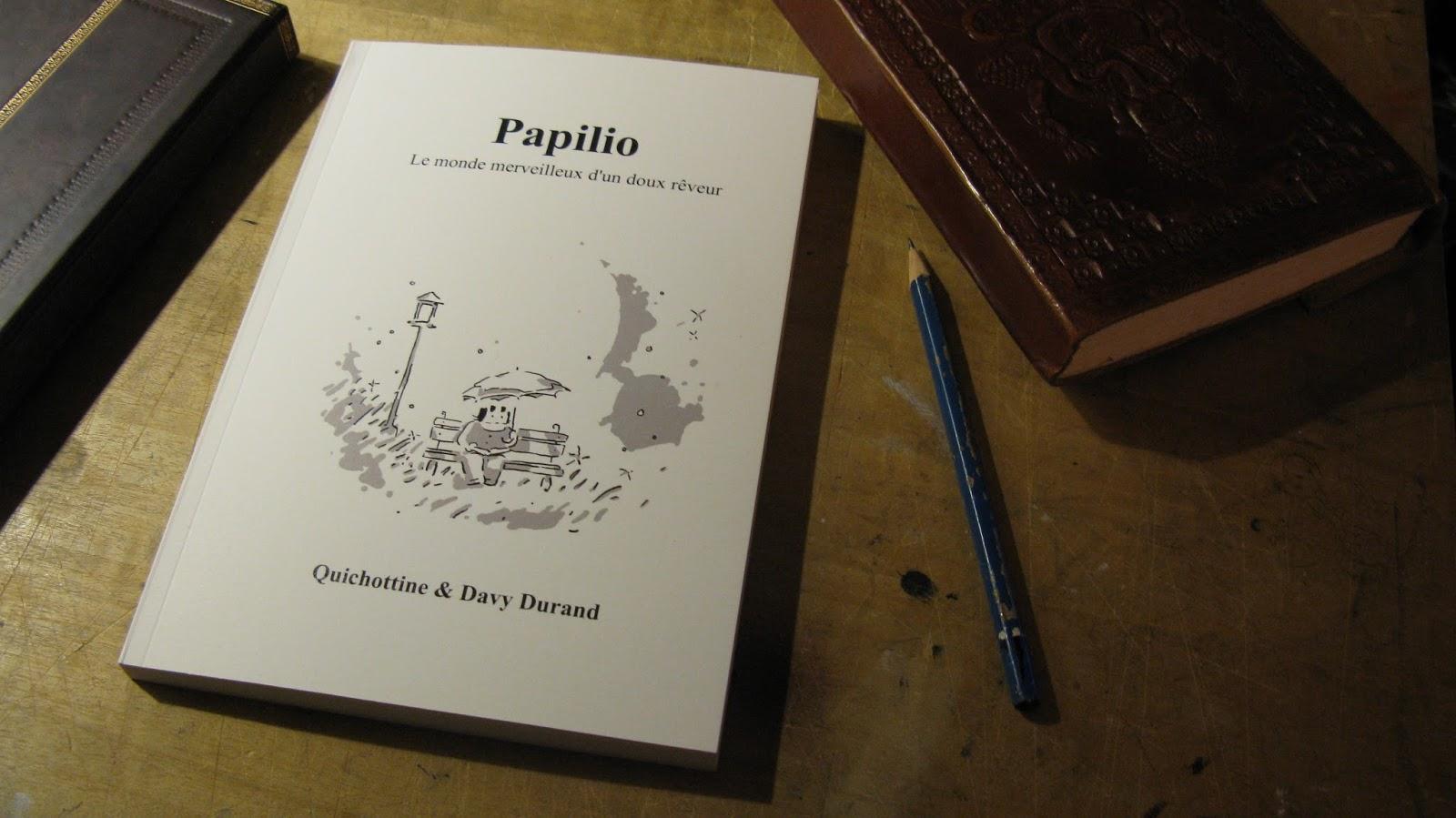 Papilio, roman illustré