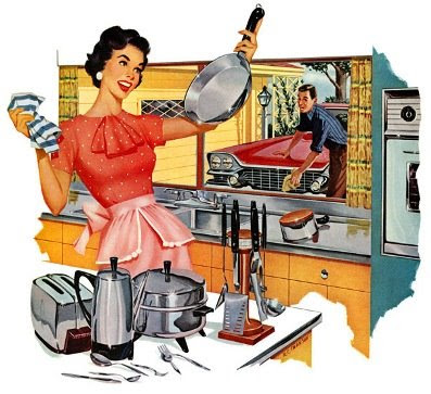 Washing dishes!