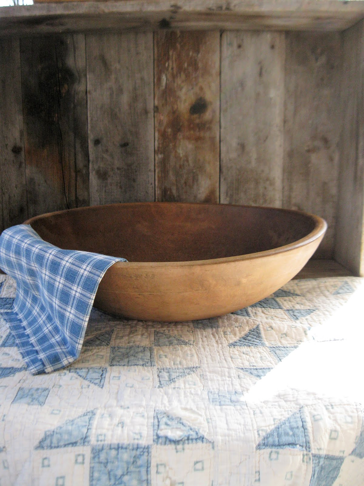big old dough bowl