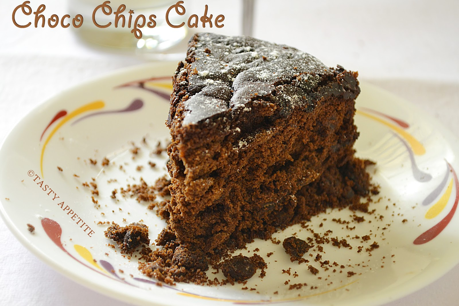 How to make Eggless Chocolate Cake / Moist Chocolate Cake ...