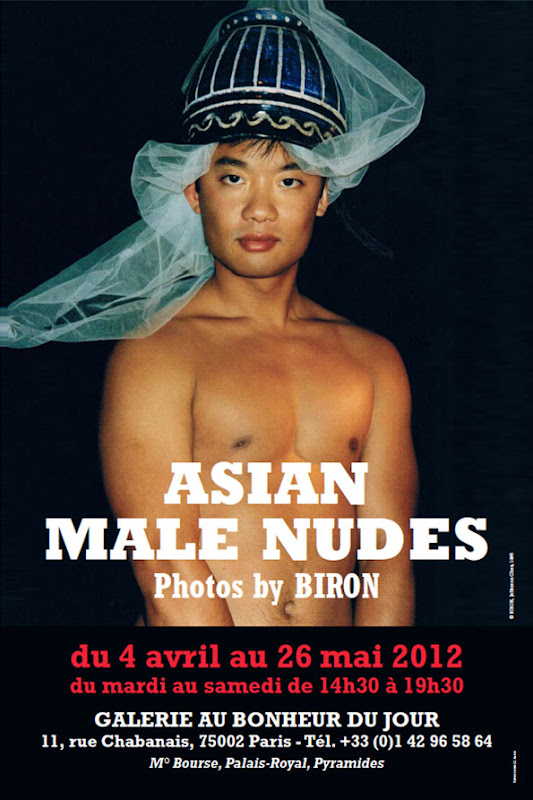 affiche Paris Asian Male Nude Exhibition