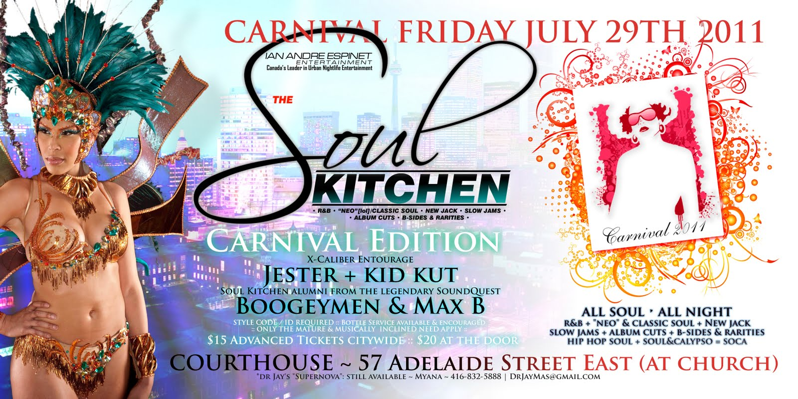 C.A. Confidential: Soul Kitchen - Carnival Edition @ The Courthouse ...