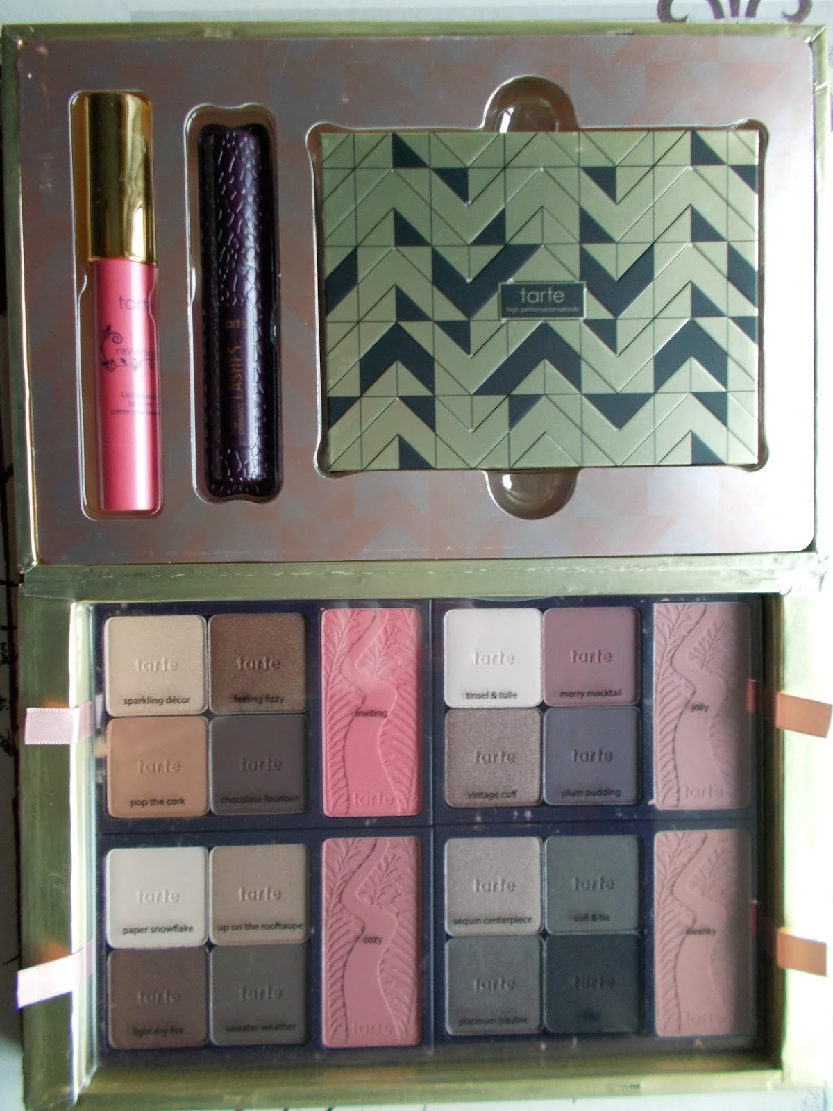 Tarte Holiday Blockbuster set review