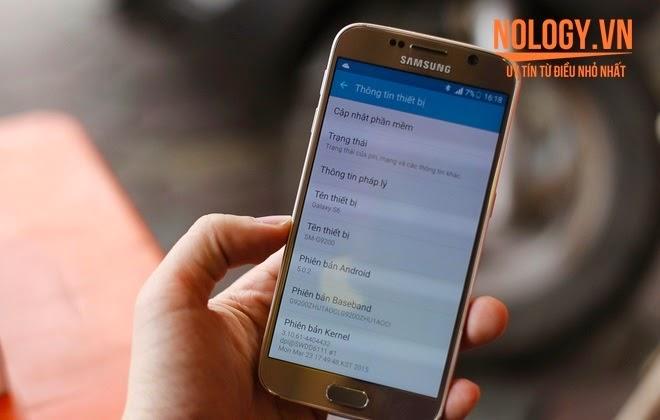 Samsung Galaxy S6 2 Sim 2 Sóng xách tay giá rẻ