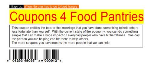 Coupons 4 Food Pantries