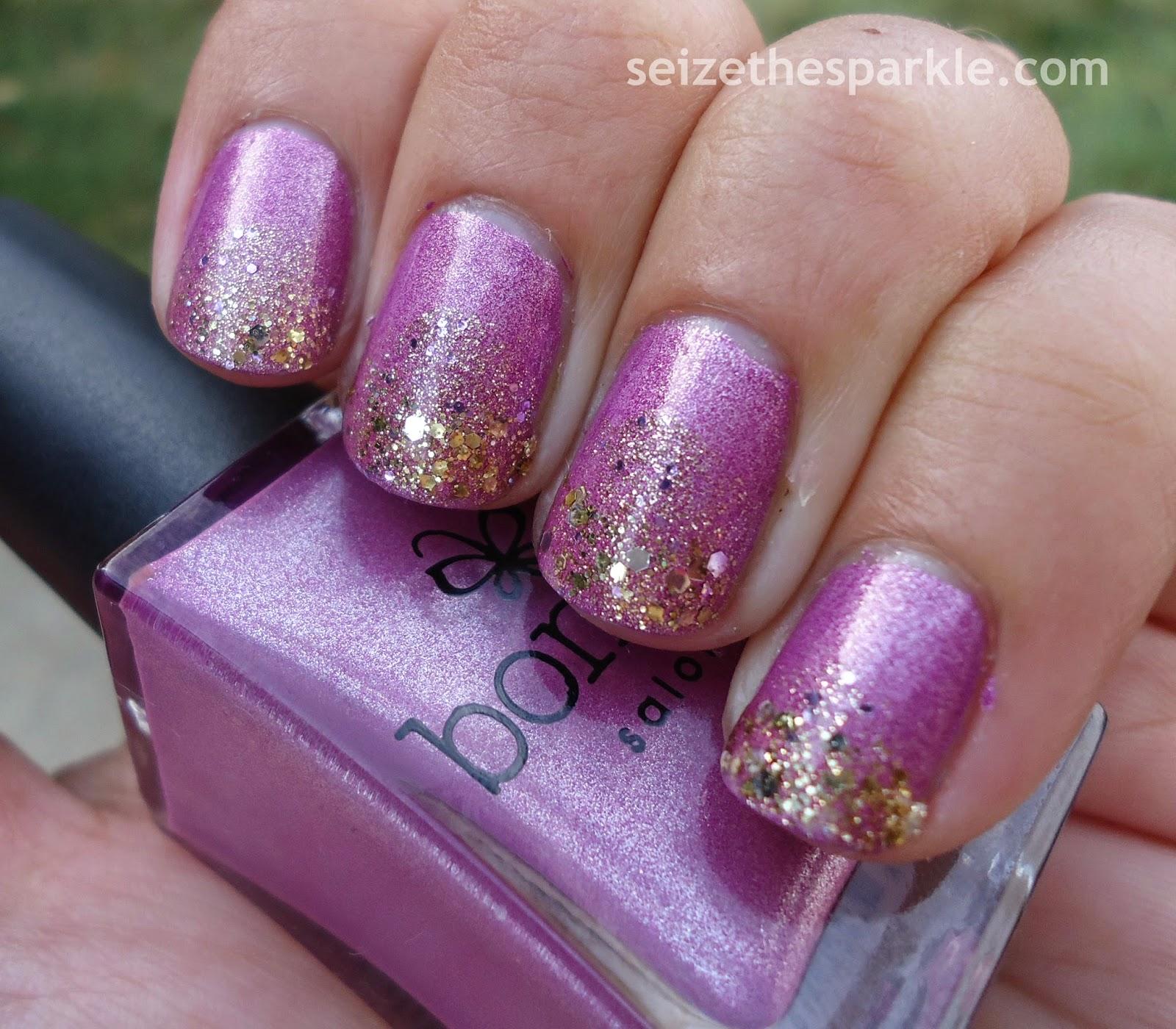 Bonita Lacquer Treats Gradient Manicure