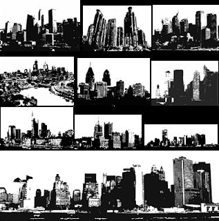 vector ciudad