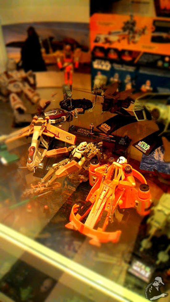 Miniature Star Wars Toys Museum Penang
