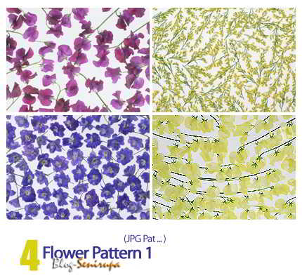 Flower Pattern For Design 01