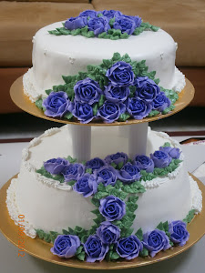 Wedding Cake - Purple Theme